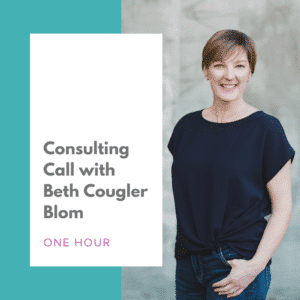 Consulting Call with Beth Cougler Blom