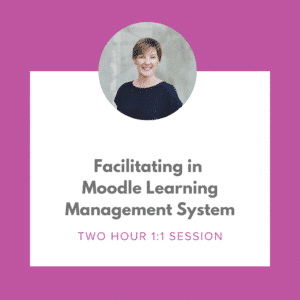 Facilitating in Moodle Learning Management System