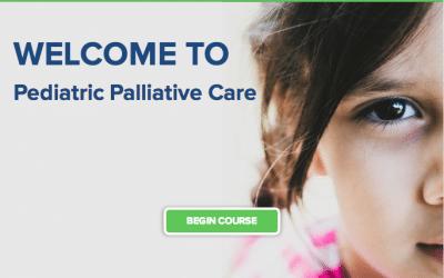 E-learning course example: Pediatric Palliative Care