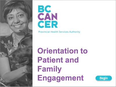 Rebranding an E-Learning Course for BC Cancer