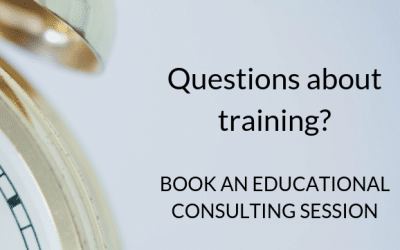 Announcing a special rate on educational consulting sessions