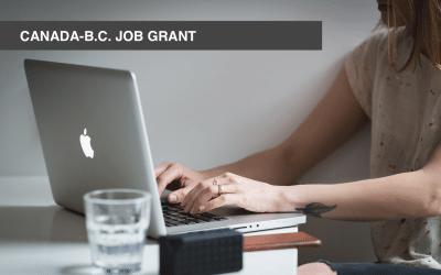 Take advantage of the Canada-B.C. Job Grant