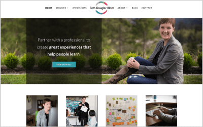 Redesigning my website